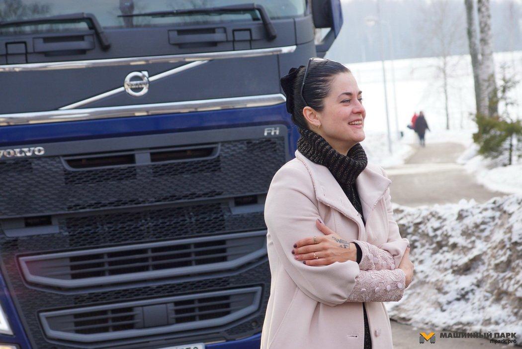 Volvo-Леди Анна Обухова. Особенности женского дальнобоя