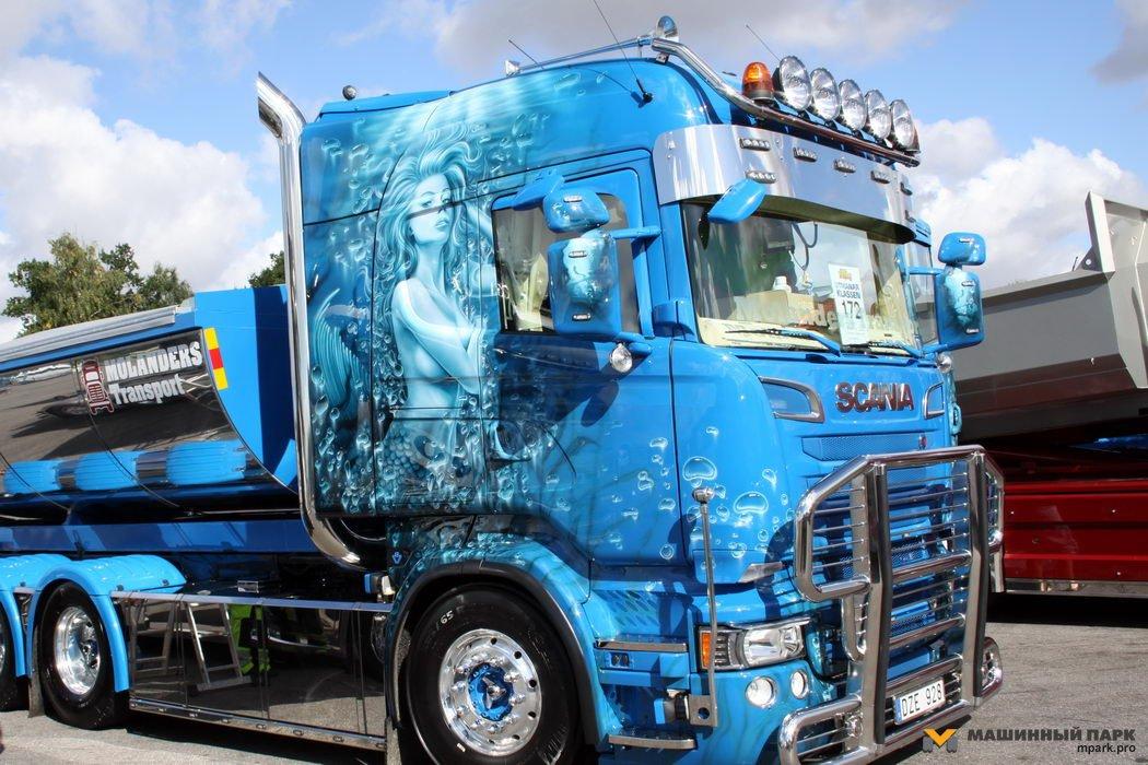 Nordic Trophy'2015. Шведское шоу грузового тюнинга