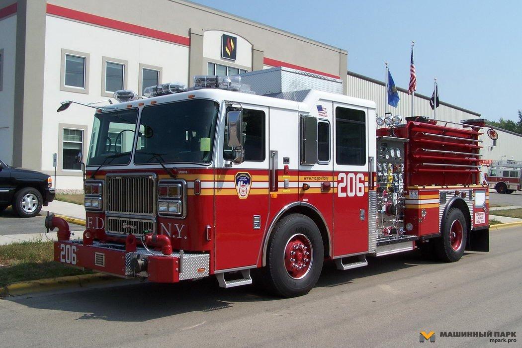Пожарные грузовики Америки. Часть 1. Custom
