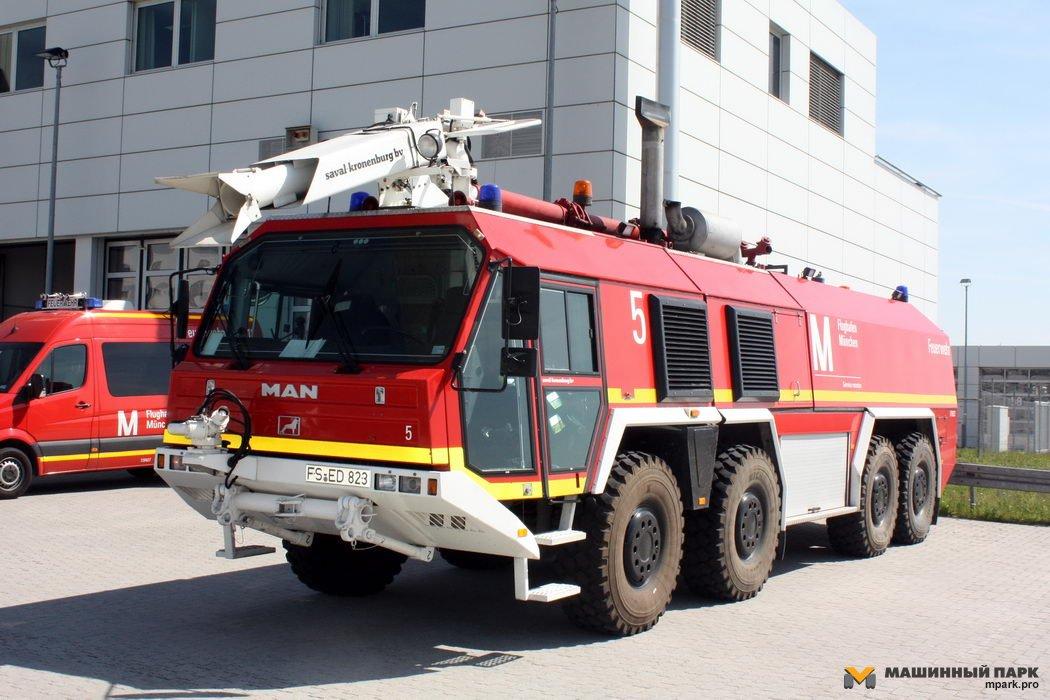 MAN для пожарной охраны. 100 лет истории
