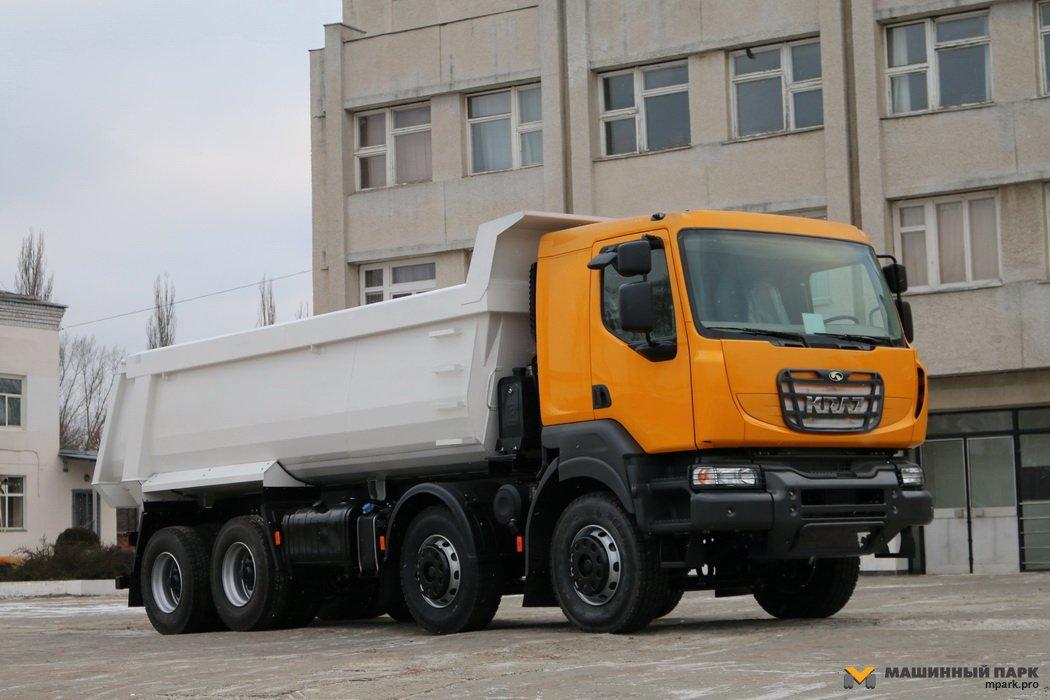 """Не путать с """"Кераксом"""". Самосвал КрАЗ-7233С4 c кабиной Renault"""