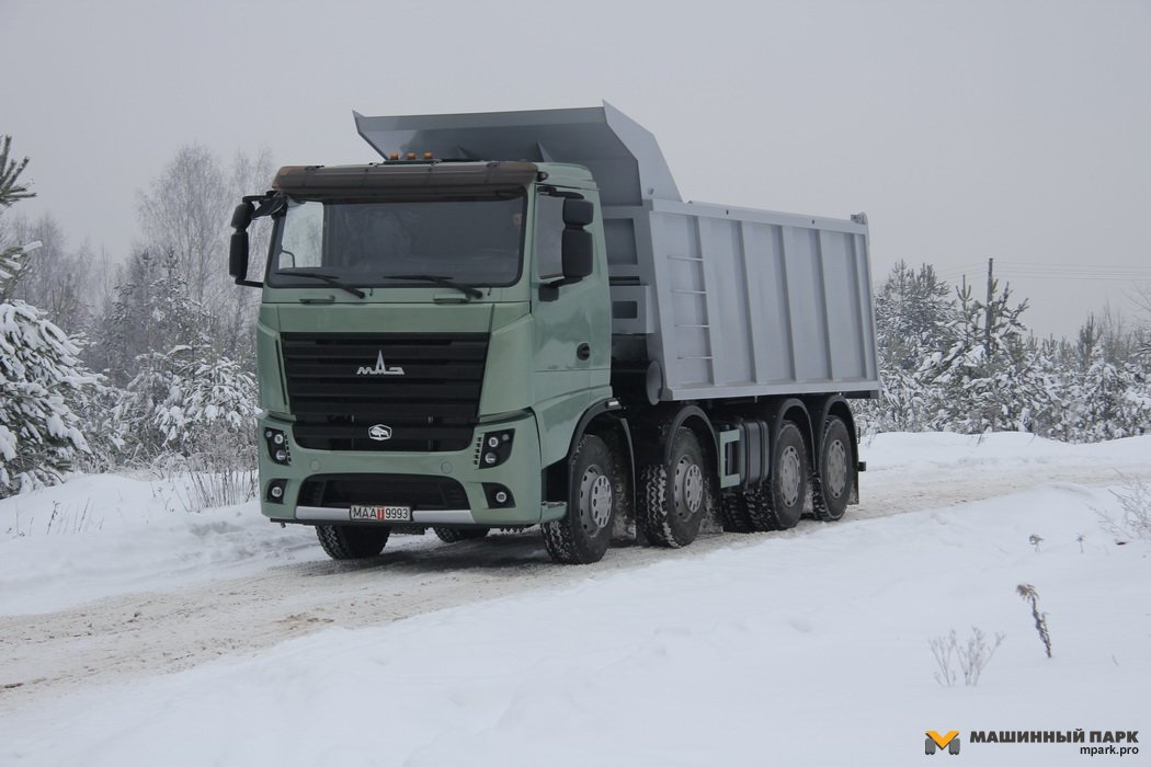 МАЗ-6516М9. Euro-многоосник. Level 6