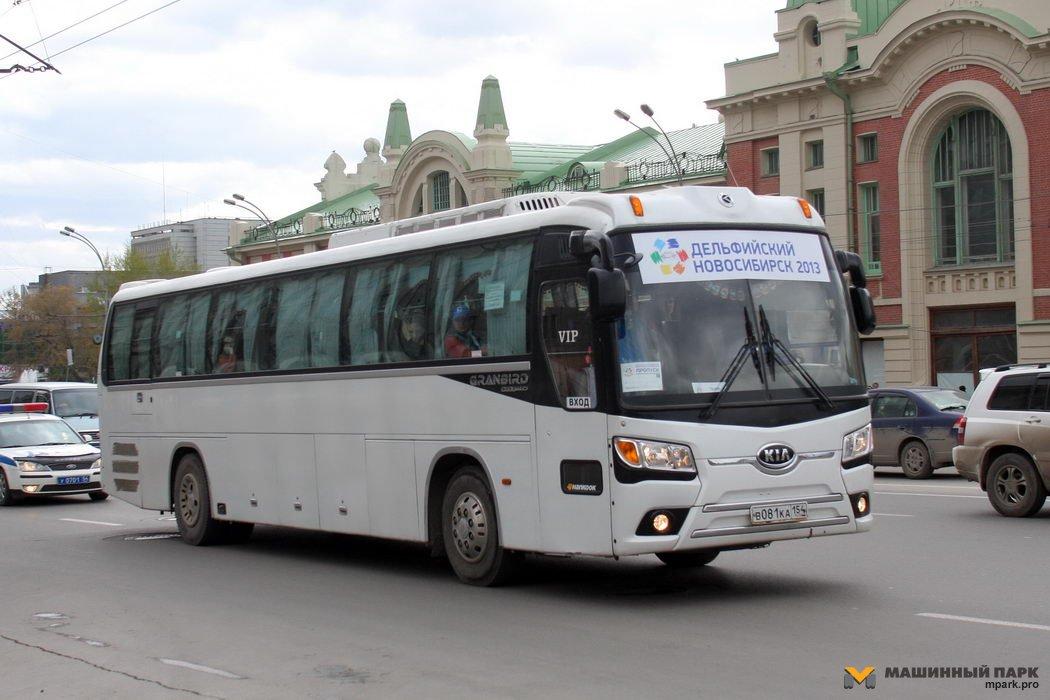 Грузовики и автобусы Южной Кореи в РФ