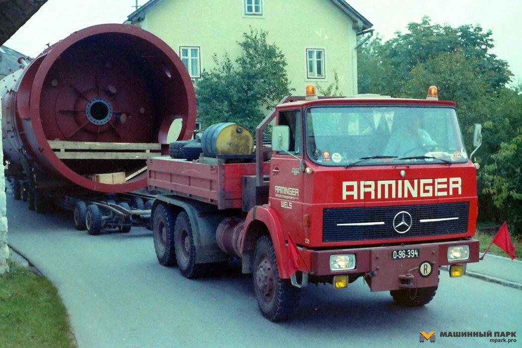 Тяжеловозы Mercedes. Эволюция конструкций