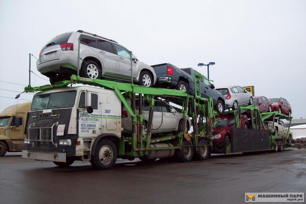 Автовозы мира. Разнообразие конструкций