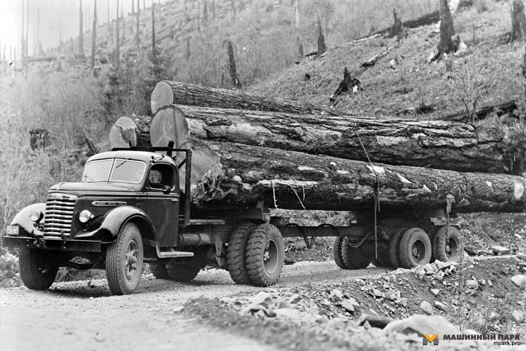 Североамериканские лесовозы