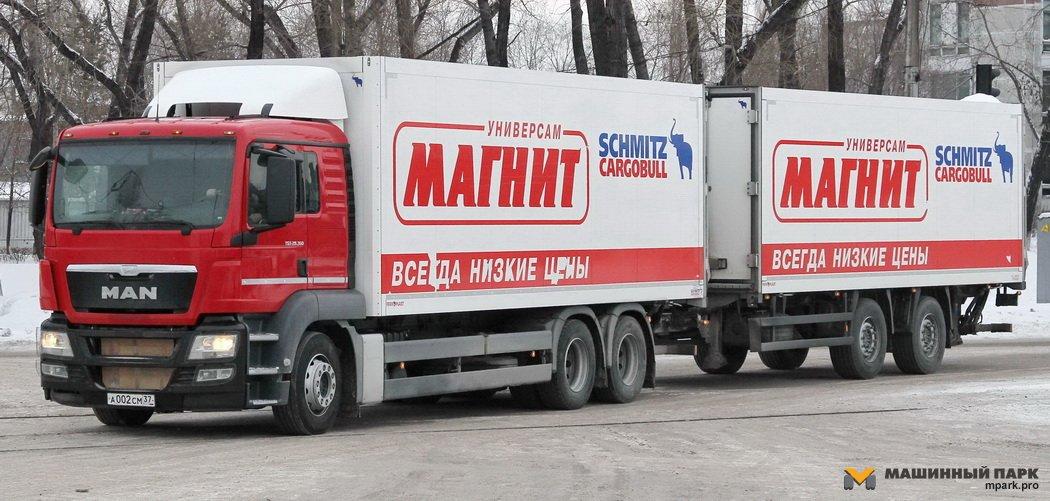 """Литовский Schmitz Cargobull. Феномен """"Магнитовской"""" сцепки"""
