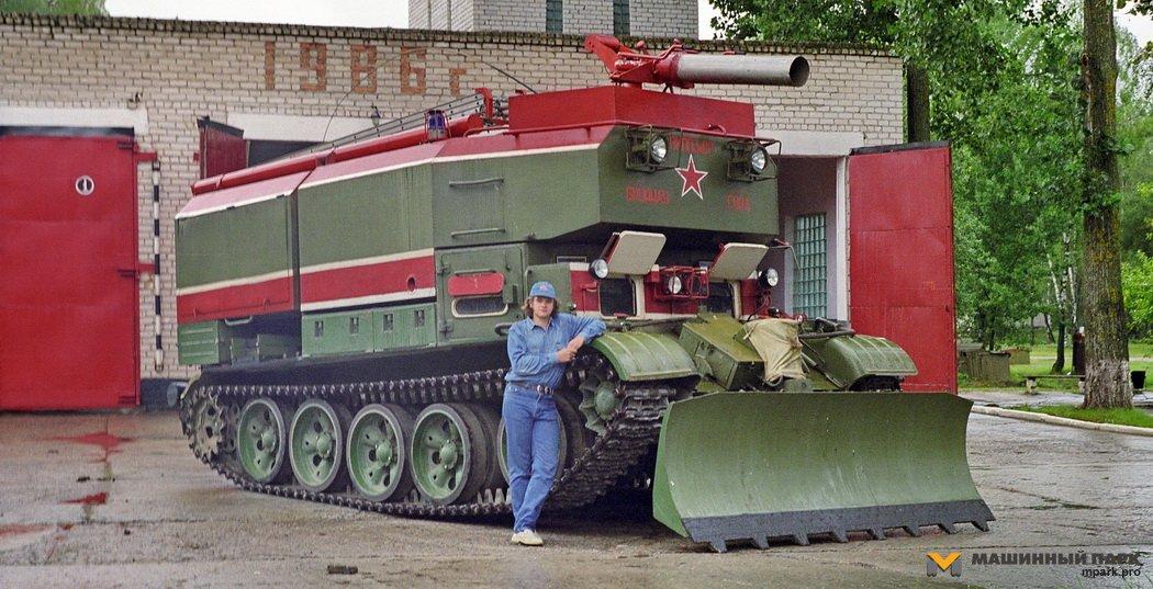 ГПМ-72 — премьера MILEX-2017. Пожарный танк Made in Belarus. Конструктивные особенности с исторической преамбулой